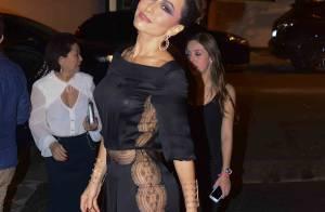 Sabrina Sato usa macacão da grife Azzaro de R$ 5 mil em evento de joalheria