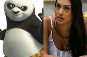 'BBB15': Fernando compara Amanda a personagem de desenho. 'Kung Fu Panda'