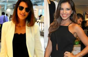 Mariana Rios embarca no Rio e exibe novo visual com cabelos mais curtos