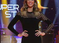 Fernanda Lima aposta em vestido justo da Versace na estreia de 'Superstar'