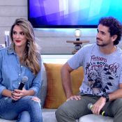 Rafa Brites, do 'SuperStar', lembra 1º encontro com Felipe Andreoli: 'Sem drink'