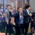 One Direction é formada por Harry Styles, Liam Payne, Louis Tomlinson, Zayn Malik e  Niall Horan