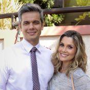 Flávia Alessandra beija o marido em 'Salve Jorge' e revela: 'Com muita língua'