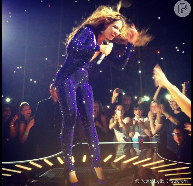 Beyoncé está realmente grávida, segundo o 'E! News', em 17 de maio de 2013