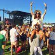 Thaila Ayala exibiu a boa forma durante o Coachella