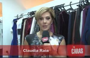 Claudia Raia fala da criação dos filhos na adolescência: 'Tem que ter paciência'