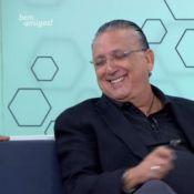 Galvão Bueno comenta selinho em Pedro Bial: 'Brincadeira. Muito carinho'