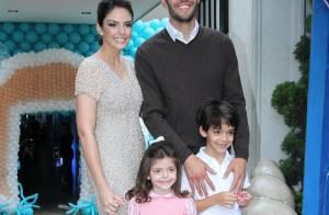 Carol Celico e Kaká comemoram 4 anos da filha, Isabella, com festa em São Paulo