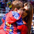 Lionel Messi é casado com Antonella Roccuzzo, com quem já tem um filho, Thiago