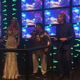 Casamento de Roberto Justus e Ana Paula Siebert também contou com show de um cover de Tim Maia