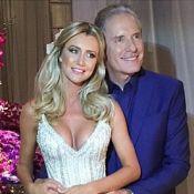 Casamento de Roberto Justus surpreende convidados com show de dança. Assista!