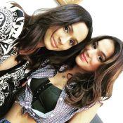 Bruna Marquezine trabalha no feriado e posa com amiga: 'Invadindo o estúdio'