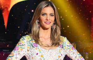 Fernanda Lima usa vestido de renda de R$ 23 mil no palco do 'SuperStar'