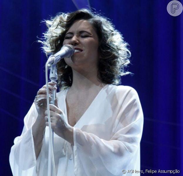 Maria Rita cantou velhos sucessos de Elis Regina