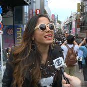 Anitta fez compras no Japão com auxílio virtual de stylist: 'Vou ficar pobre'