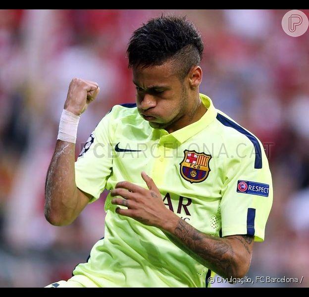 Neymar marca dois gols pelo Barcelona em jogo contra o Bayern de Munique, mas não garante vitória do time catalão. Apesar disso, o clube espanhol segue para a final da Liga dos Campeões, nesta terça-feira, 12 de maio de 2015