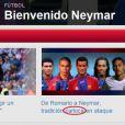 Site do Barcelona comete gafe ao afirmar que Neymar é carioca nesta segunda-feira, 27 de maio de 2013: 'De Romário a Neymar, tradição carioca no ataque'. Dos jogadores da foto, apenas Romário e Ronaldo são cariocas