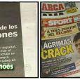 """O choro e a emoção de Neymar em seu último jogo pelo Santos estampou as principais capas dos jornais espanhóis: transação, segundo a imprensa local, ultrapassou R$270 milhões. Já o site espanhol """"Marca"""" cravou o valor de R$ 143,5 milhões. E a imprensa esportiva brasileira estima que o valor da transferência foi de R$ 92,9 milhões"""