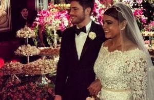 Cantora posta fotos do casamento e comemora novo nome: 'Preta Gil Godoy'