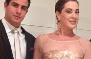 Claudia Raia diz que o filho, Enzo, é muito ciumento: 'Me pega pelo pescoço'