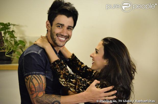 A próxima vítima da periguete Valdirene será o cantor Gusttavo Lima As cenas prometem divertir os brasileiros