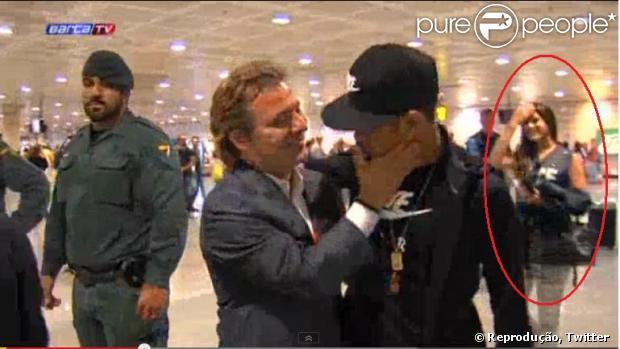 Bruna Marquezine acompanha Neymar em Barcelona