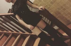 Klara Castanho, de 14 anos, posa de botas de salto e ganha elogios: 'Linda!'