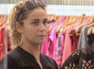 Giovanna Antonelli dispensa maquiagem para ir às compras em shopping no Rio