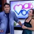 Zeca Camargo não agradou ao assumir a apresentação do 'Mais Você', ao lado de Cissa Guimarães, nesta segunda-feira, 1º de junho de 2015