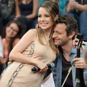 Lucas Lima brinca com comentário de Sandy no 'SuperStar': 'Gosta do violino'