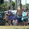 Thiago Lacerda e Vanessa Lóes são pais de Gael, de 5 anos, e Cora, de 3 anos