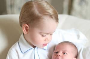 Palácio divulga a primeira foto oficial da princesa Charlotte Elizabeth Diana