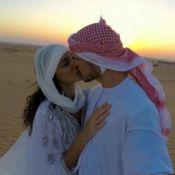 Débora Nascimento e José Loreto se casaram em Dubai. 'Foi mágico', diz o ator