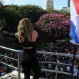 Wanessa  se apresentou na 19ª Parada do Orgulho LGBT, em São Paulo, neste domingo, 7 de junho de 2015