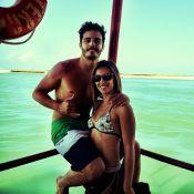 Mulher de Thiago Rodrigues vai cobrir a Copa América e ator vibra: 'Orgulhoso'