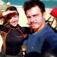 Após um conturbado divórcio em 2012, Thiago Rodrigues e Cristiane Dias reataram o casamento em janeiro deste ano