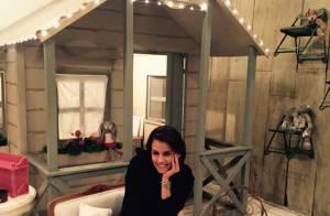 Deborah Secco elege quarto estilo francês e 1º look de Maria Flor: 'De princesa'