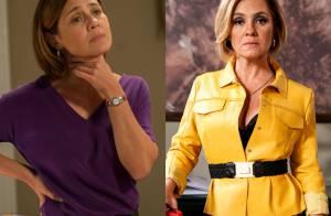 Novo estilo de Inês (Adriana Esteves) brilha na novela 'Babilônia'. Veja looks!