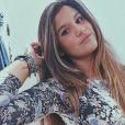 Giulia Costa, filha de Flávia Alessandra e de Marcos Paulo, também vai estrear como atriz, na novela 'Malhação'