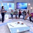 Monica Iozzi foi uma das convidadas do 'Encontro com Fátima Bernardes' desta sexta-feira, 12 de junho de 2015