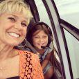 Nikki Meneghel já declarou que tem a tia, Xuxa, como inspiração