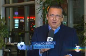 Galvão Bueno comenta no 'JN' sobre pane durante voo no Chile: 'Não é agradável'