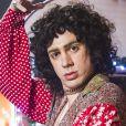 Marcelo Adnet fez uma paródia de 'Sandra Rosa Madalena' no 'Fantástico' em 2013