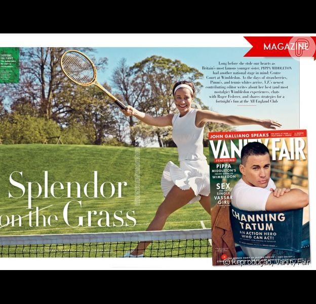 Pippa Middleton estreia como colunista na revista 'Vanity Fair', em sua edição de julho de 2013