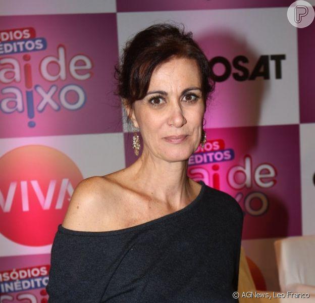 Márcia Cabrita, que luta contra um câncer no ovário, diz que ficou animada com o retorno do 'Sai de Baixo': 'Trabalhar é sempre bom'