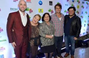 Paulo Gustavo leva famosos a première carioca de 'Minha Mãe é uma Peça'