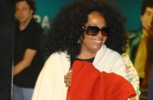 Diana Ross desembarca no Rio de Janeiro para show da turnê Summer Tour 2013