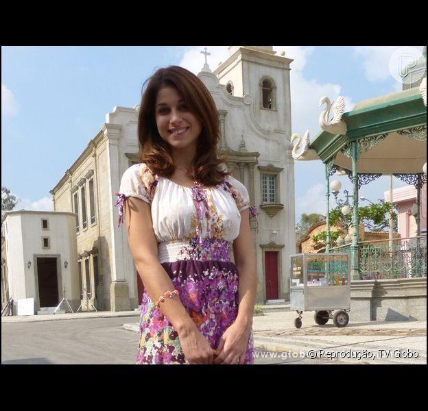 Chandelly diz não se importar com a nudez em 'Saramandaia' em entrevista publicada em julho de 2013
