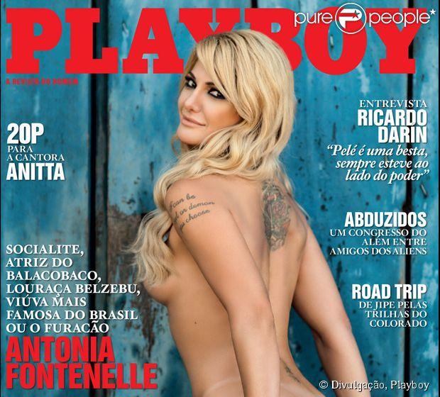 Antonia Fontenelle é o destaque da 'Playboy' de julho