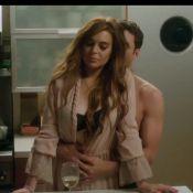Lindsay Lohan protagoniza cenas sensuais com ator pornô em 'The Canyons'